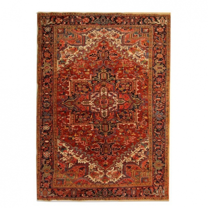 Antique Rugs Persian Heriz Carpet