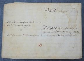Antique Georgian Document