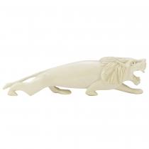 Art deco lion sculpture